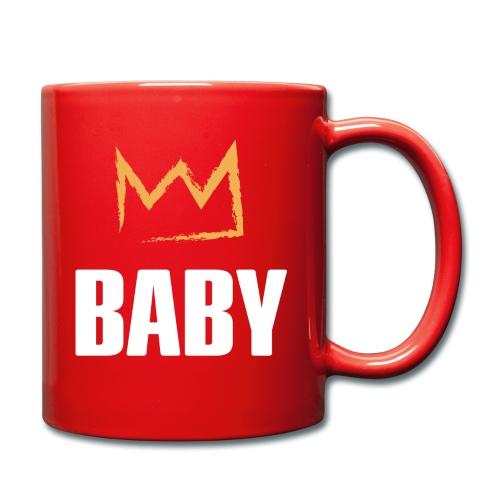Baby mit Krone - Tasse einfarbig