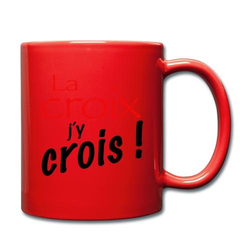 la croix jy crois - Mug uni