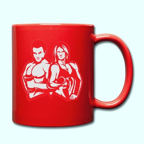 Man & woman NLB - Yksivärinen muki