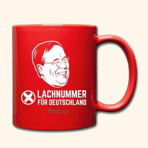 Lachnummer für Deutschland - Tasse einfarbig