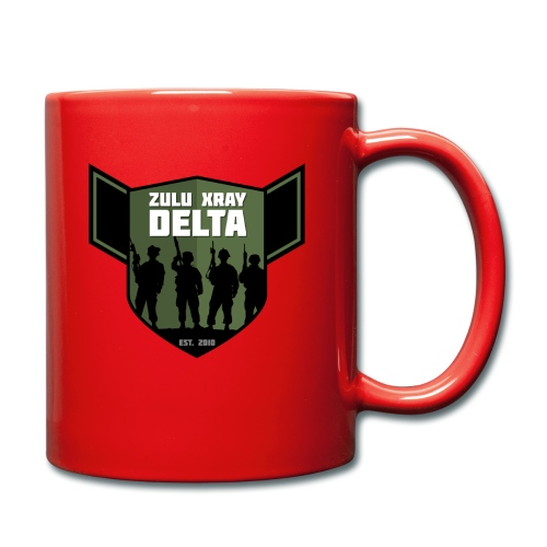 Zulu X-Ray Delta Logo - Full Colour Mug