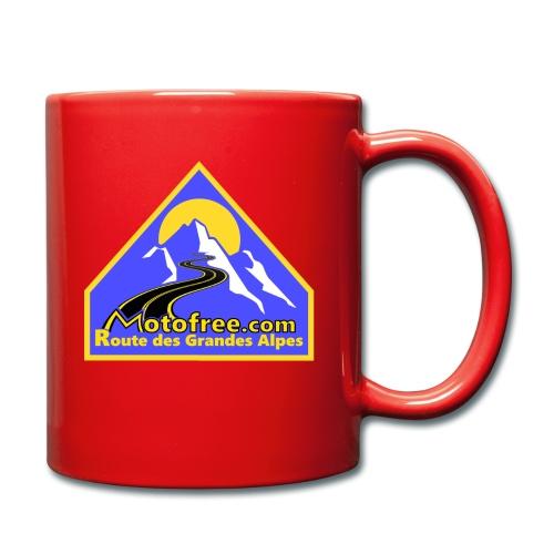 Logo motofree bleu - Mug uni