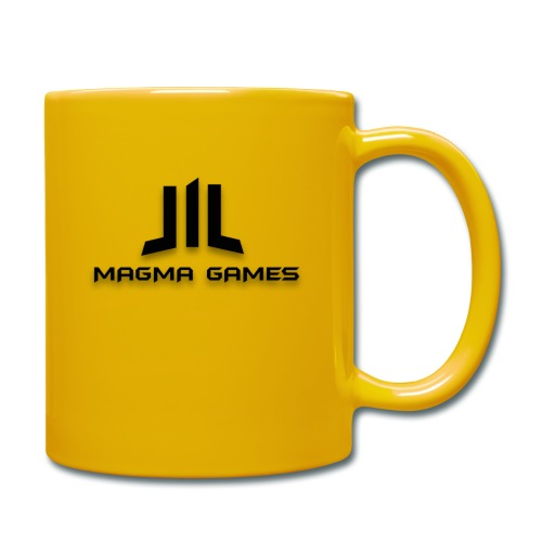 Magma Games sweater grijs met zwart logo - Mok uni
