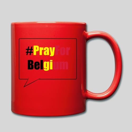 #PrayForBelgium - Mug uni