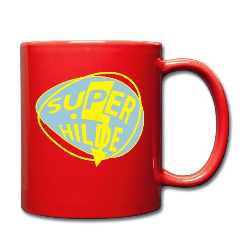 superhilde - Tasse einfarbig