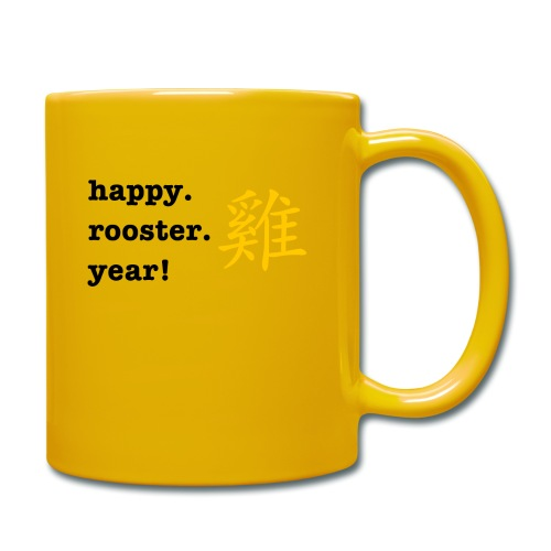 happy rooster year - Full Colour Mug