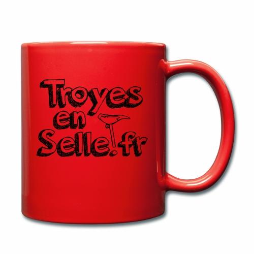 logo Troyes en Selle noir - Mug uni