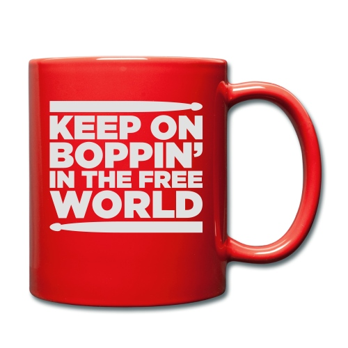 Keep on Boppin' - Full Colour Mug