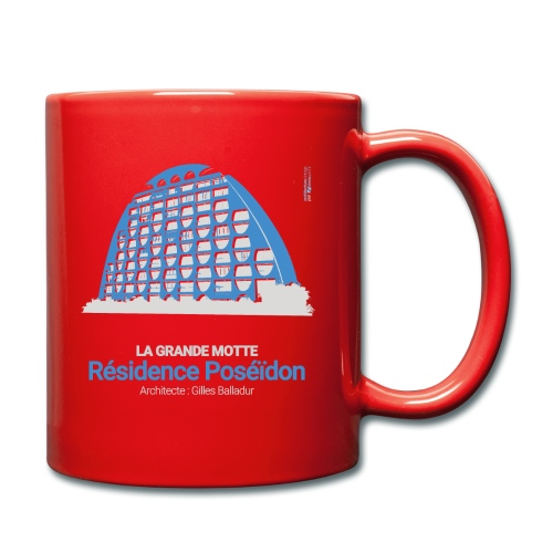 ArchitectureVintage - Résidence Poséïdon - Mug uni