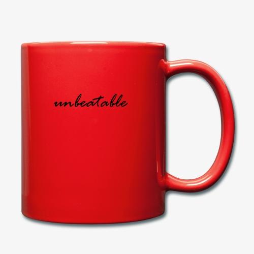 unbeatable - Tasse einfarbig