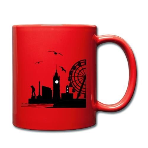 Silhouette of Margate - Full Colour Mug