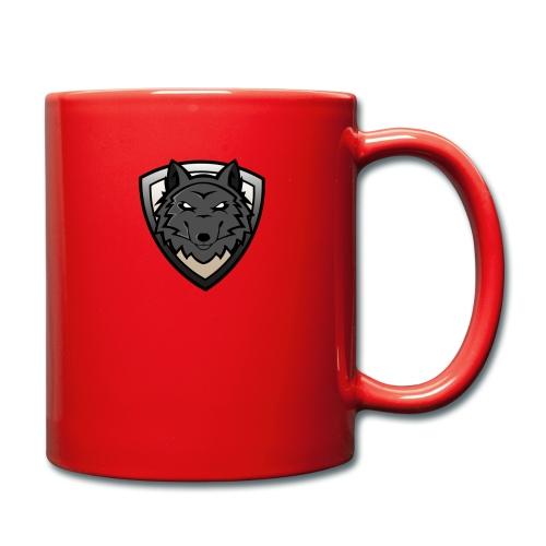 wolf - Tasse einfarbig