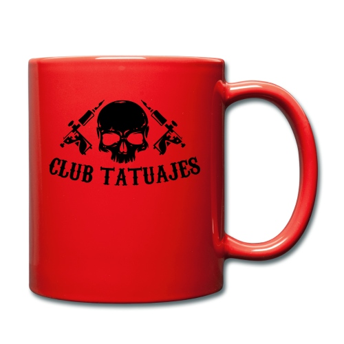 Club tatuajes - Taza de un color