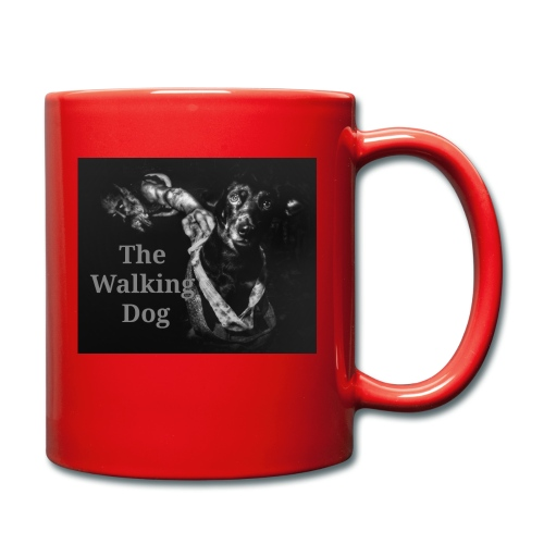 The Walking Dog - Tasse einfarbig