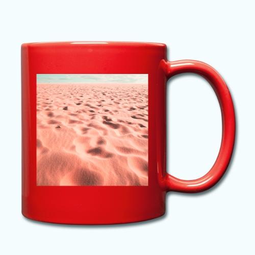 Sand beach minimalism - Full Colour Mug