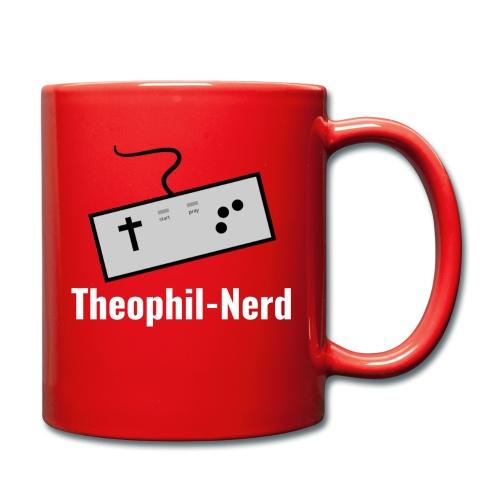 Retro Theophil-Nerd - Tasse einfarbig
