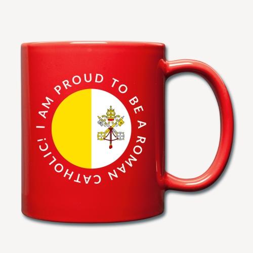 I AM PROUD TO BE ROMAN CATHOLIC - Full Colour Mug