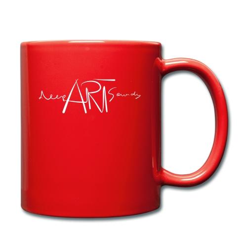 LOGO deepArtSounds Weiss Transparent gif - Full Colour Mug