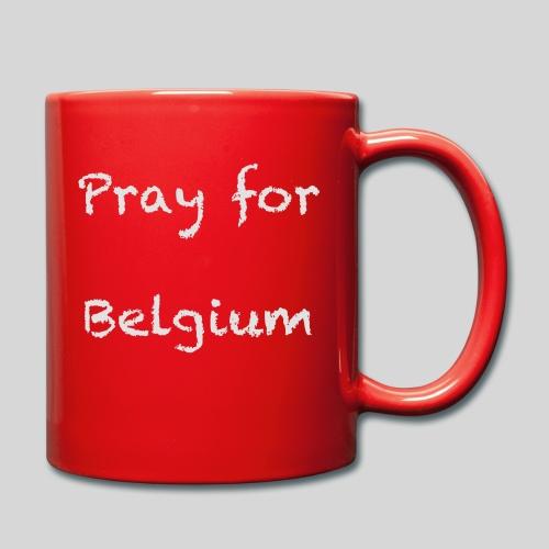 Pray for Belgium - Mug uni