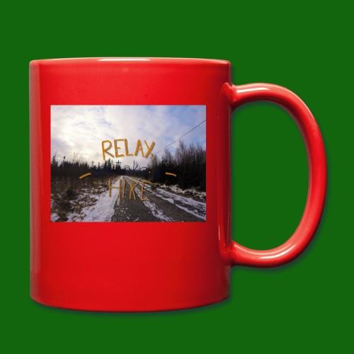 Relax and take a hike - Full Colour Mug