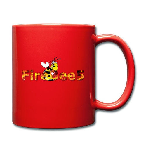 FireBee5 - Comic-Style - Tasse einfarbig