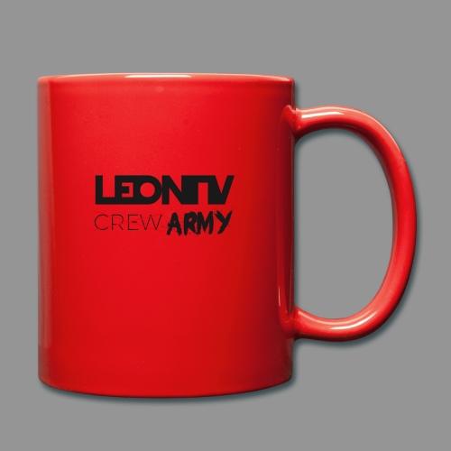 LeonTV ̶c̶̶r̶̶e̶̶w̶ ARMY - Tasse einfarbig