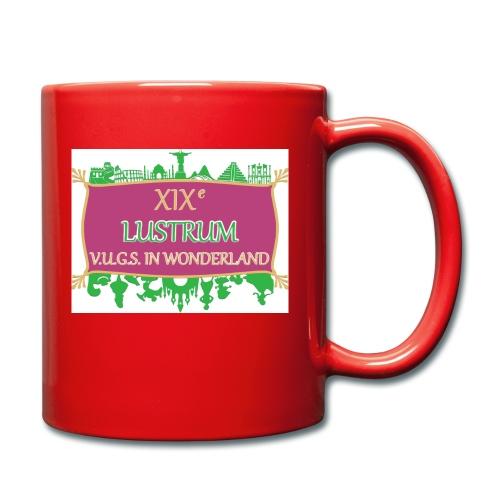 lustrum logo kleur Transparant - Mok uni