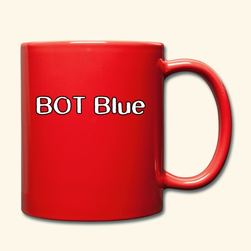 BOT Blue Written Logo - Full Colour Mug