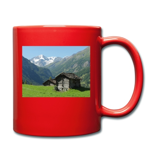Mountain - Tasse einfarbig