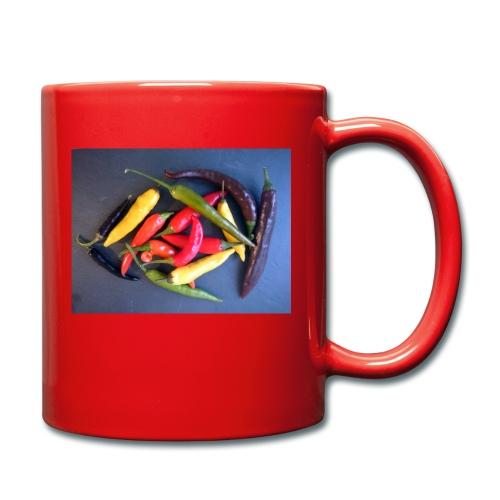 Chili bunt - Tasse einfarbig