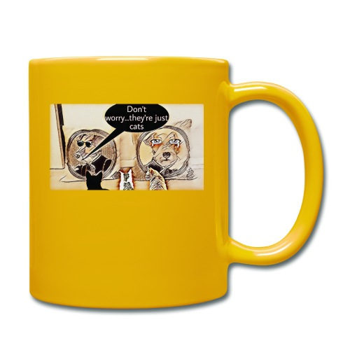 Dogs VS Cats - Mug uni