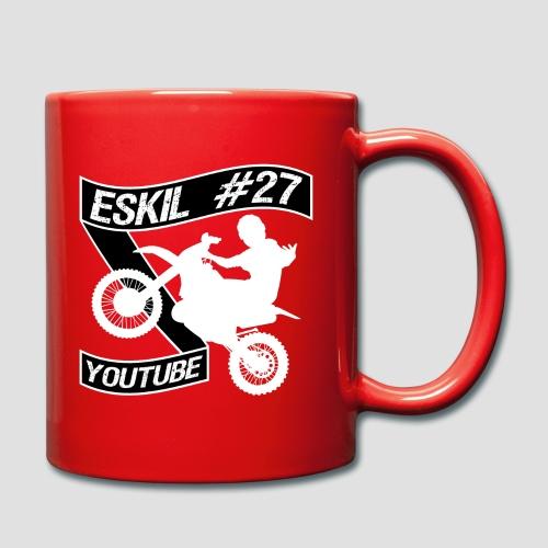 Eskil 27 Snaxy youtube - Enfärgad mugg