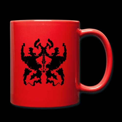 Rorschachtest Design - Tasse einfarbig