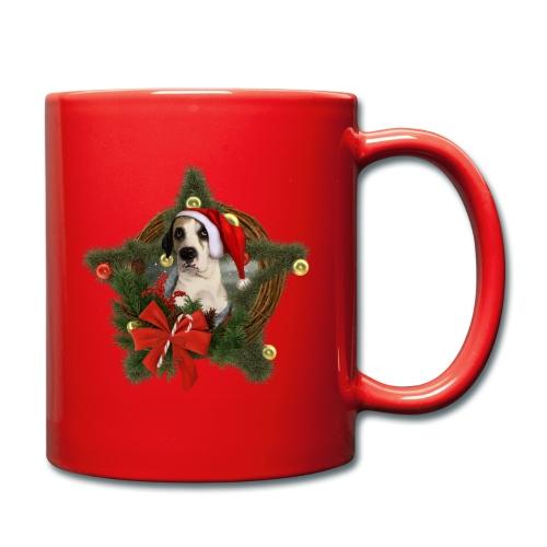 Christmas Dog - Tazza monocolore