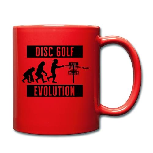 Disc golf - Evolution - Black - Yksivärinen muki