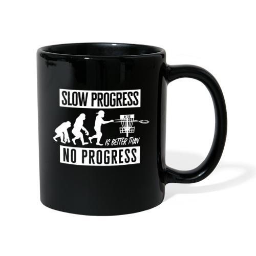 Disc golf - Slow progress - White - Yksivärinen muki