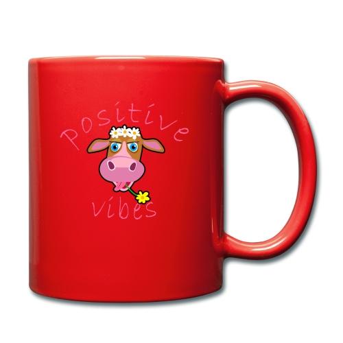 positive cow pink - Tazza monocolore