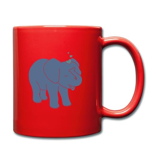 Little elephant - Tasse einfarbig