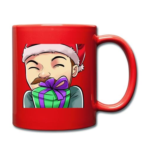 Jegscraft Christmas present emote - Ensfarget kopp