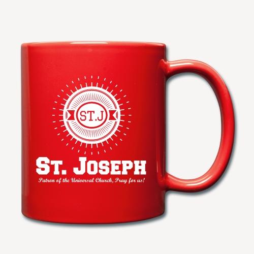 Saint Joseph, Patron of the Universal Church - Full Colour Mug
