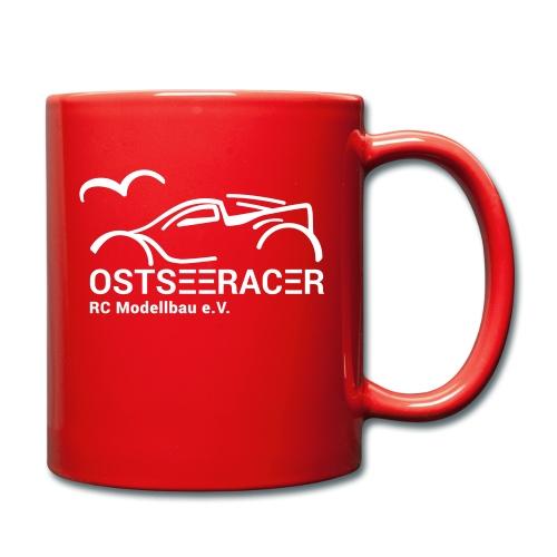 Logo Ostseeracer - Tasse einfarbig