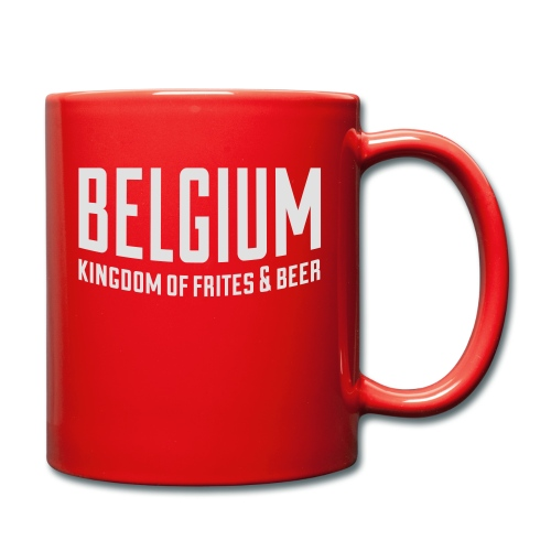 Belgium kingdom of frites & beer - Mug uni