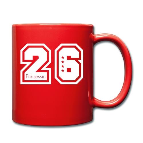 Prinzessin 26 - Tasse einfarbig