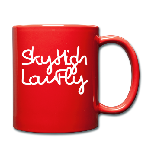 SkyHighLowFly - Men's Sweater - White - Full Colour Mug