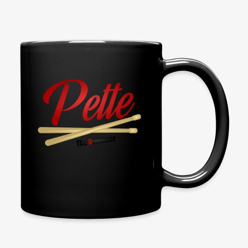 Pette the Drummer - Full Colour Mug
