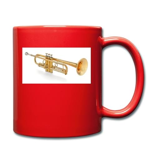 the trumpet - Tasse einfarbig
