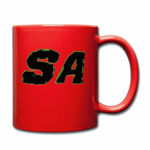 Svart SA Logo - Enfärgad mugg