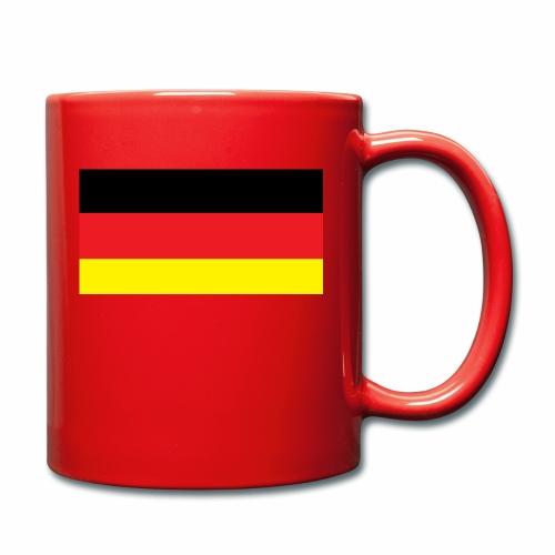 Deutschland Weltmeisterschaft Fußball - Tasse einfarbig