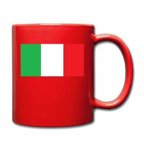 Italien Fußball - Tasse einfarbig