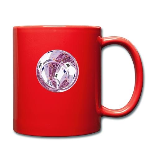 euro 500 schein - Tasse einfarbig